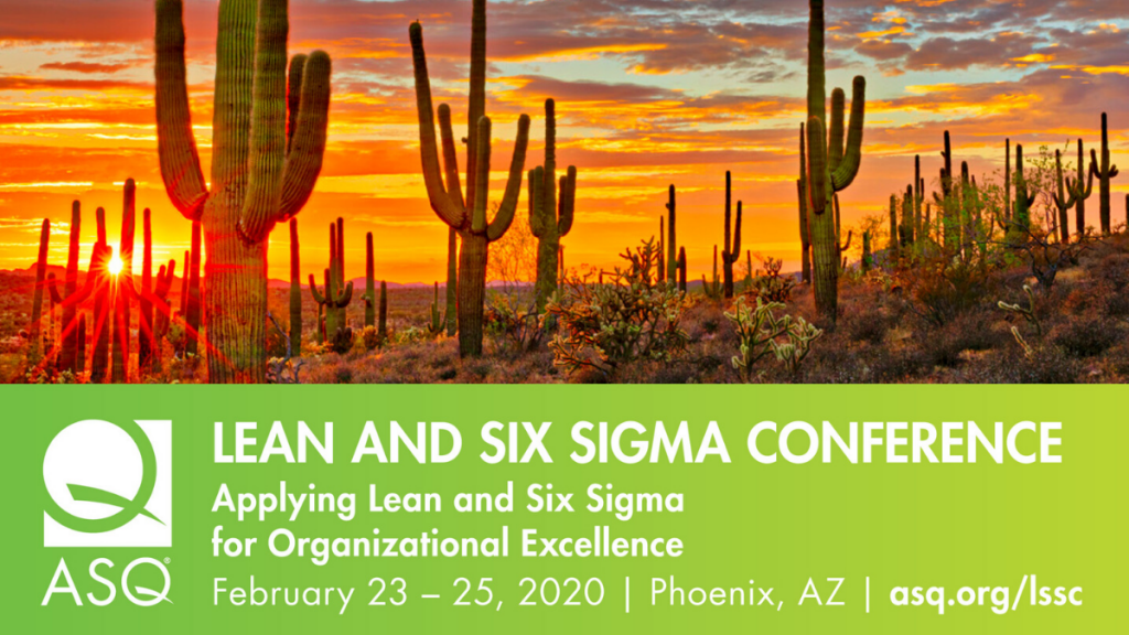 Lean and Six Sigma Conference