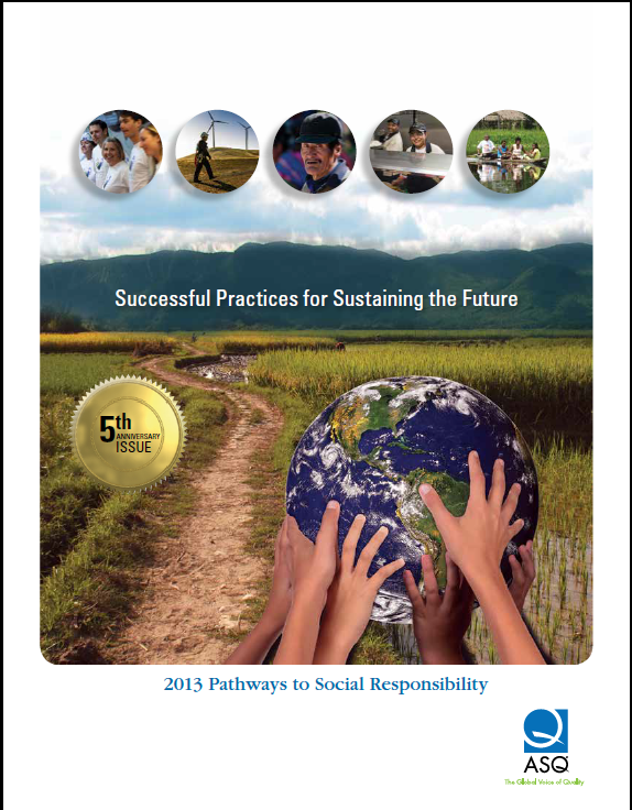 Pathways to Social Responsibility 2013 cover