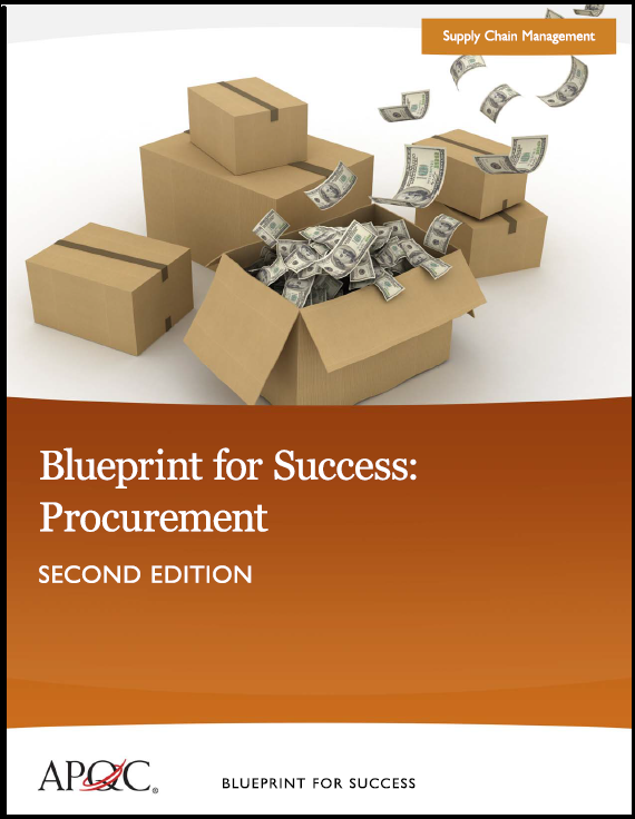 APQC Blueprint Procurement Cover
