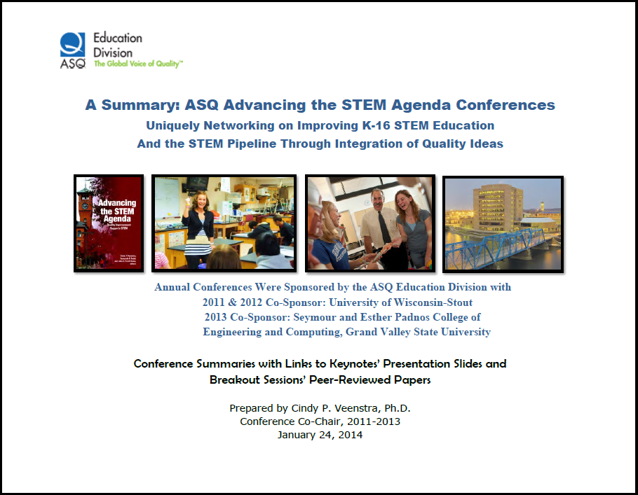 STEM Conference Proceedings cover