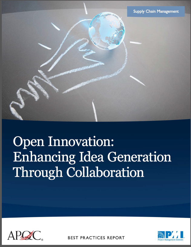 Open Innovation benchmarking cover