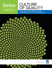 Culture of Quality white paper cover