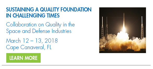 Collaboration on Quality in the Space and Defense Industries