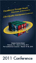 2011 Quality Management Conference