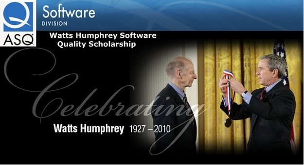 Watts Humphrey Software Quality Scholarship