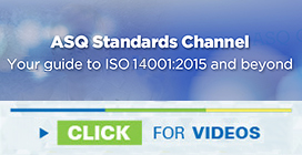 What is ISO 14001:2015? - Environmental Management Certification | ASQ