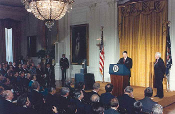 First Baldrige Award Ceremony, White House, November 14, 1988