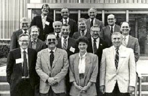 Members of the first Board of Examiners, 1988