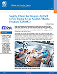 Supply Chain Techniques Applied to Six Sigma Saves SeaDek Marine Products $250,000