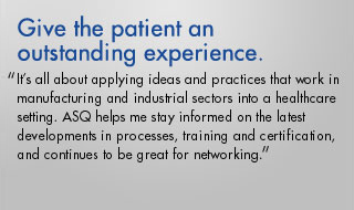 Give the patient an outstanding experience