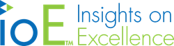 Insights on Excellence (IOE) logo