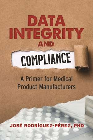 cover image for Data Integrity and Compliance