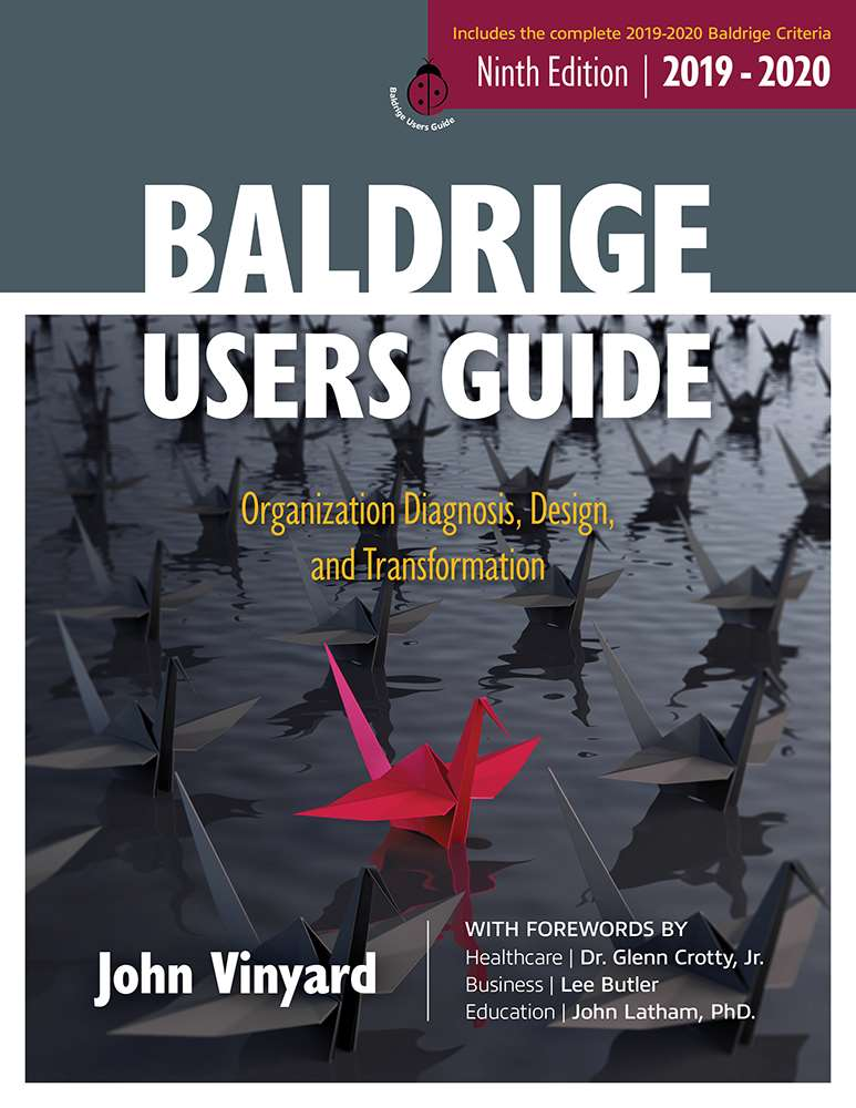 cover image for Baldrige Users Guide