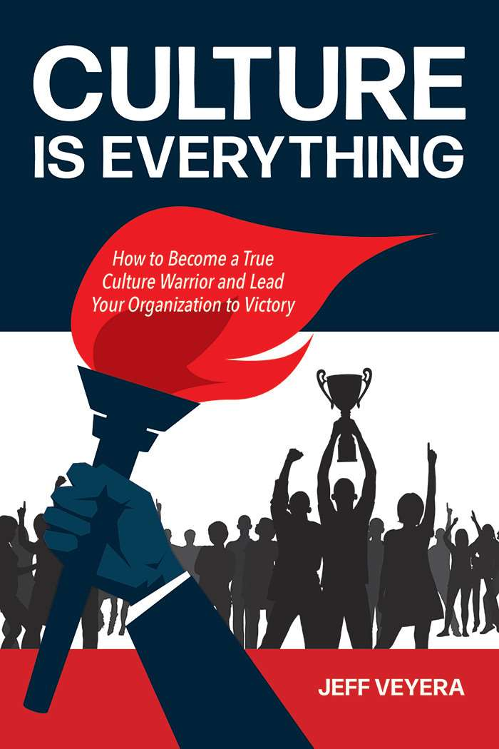 """Culture Is Everything"" by Jeff Veyera (book cover)"