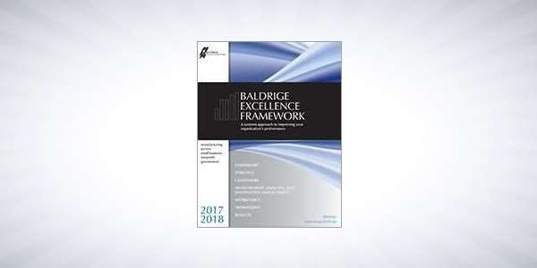 2017-2018 Baldrige Excellence Framework (Business/Nonprofit)