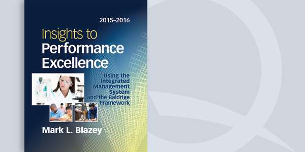 Insights to Performance Excellence 2015-2016