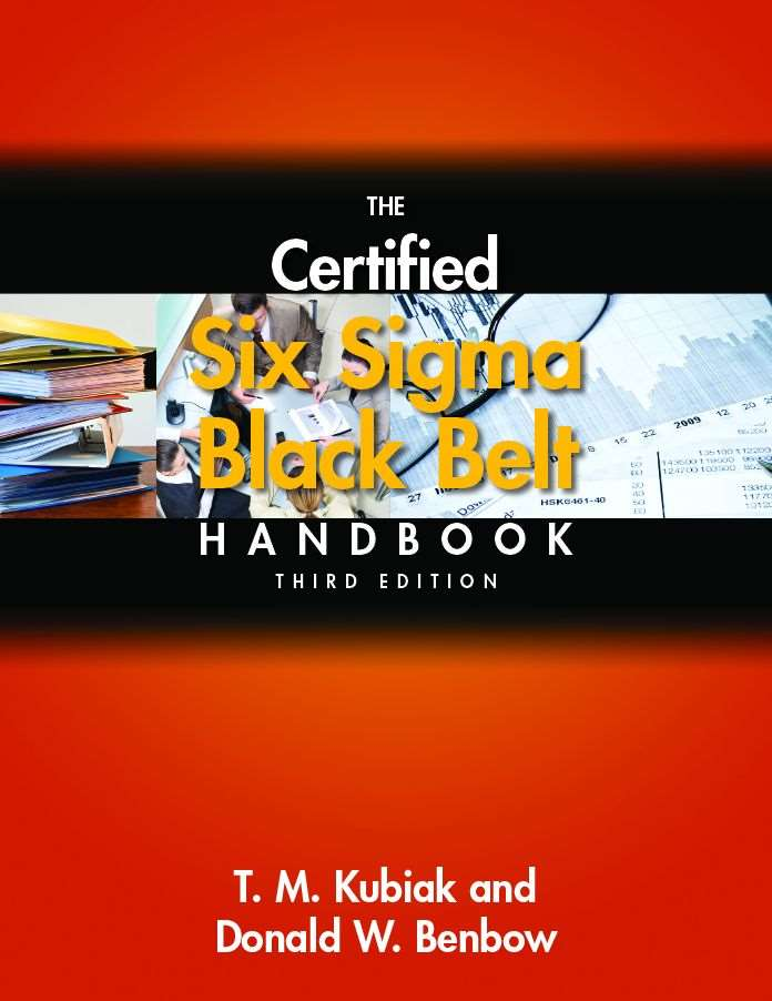 The Certified Six Sigma Black Belt Handbook Third Edition Asq