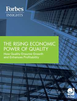 The Rising Economic Power of Quality