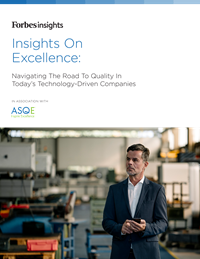 ASQE Journey to Excellence cover image