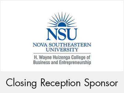 Nova Southeastern University - Closing Reception Sponsor