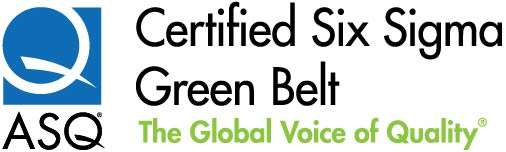 ASQ Certified Six SIgma Green Belt logo