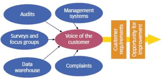 Common Voice of the Customer (VOC) Sources