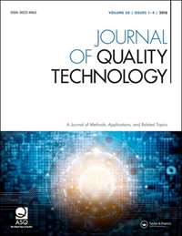 Journal of Quality Technology cover image