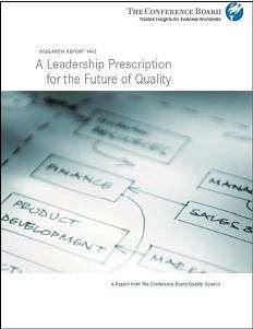 A Leadership Prescription for the Future of Quality