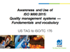 ISO 9000 Awareness Presentation cover