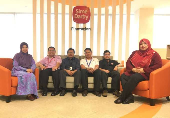 Sime Darby Plantation Team Photo