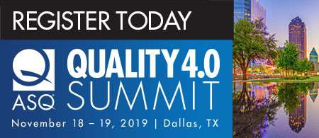 ASQ Quality 4.0 Summit Banner With Strong CTA