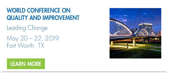 2019 World Conference on Quality and Improvement