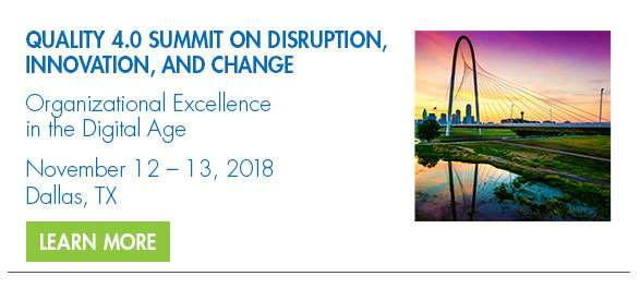 2018 Quality 4.0 Summit