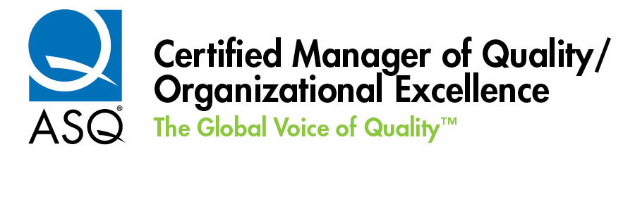 Logos - Certified Manager of Quality & Organizational Excellence | ASQ