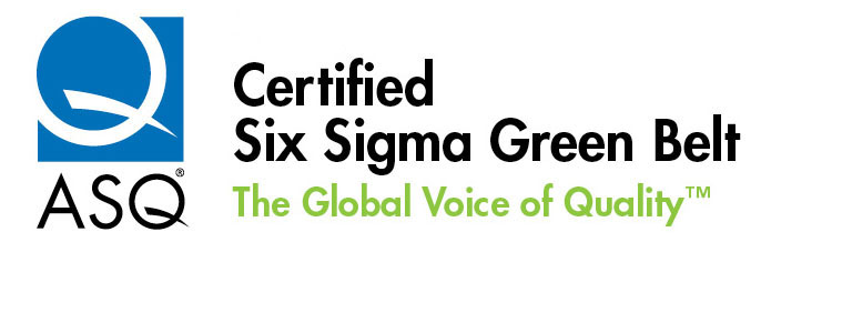 Logos - Six Sigma Green Belt ( CSSGB ) Certification | ASQ