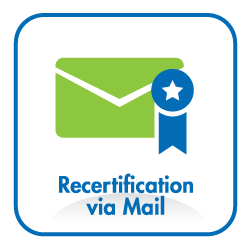 recertification by mail